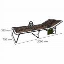 Раскладная кровать (усиленная) Десант
